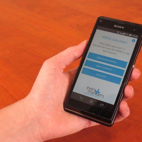 Snel inzicht met de WBSO App
