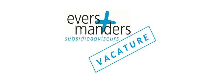 Vacature bij subsidieadviseurs Evers + Manders