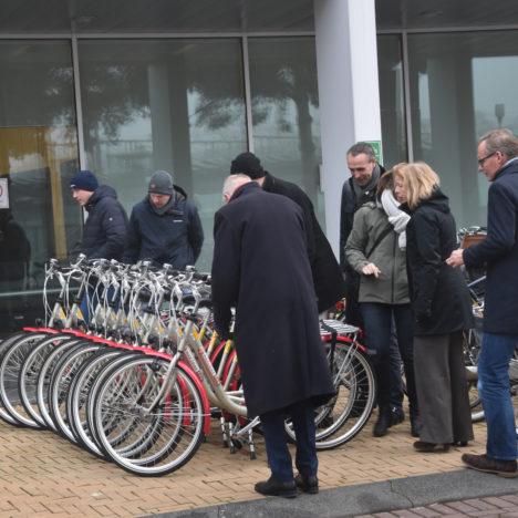 Bezoek partners Aerfit project Apeldoorn