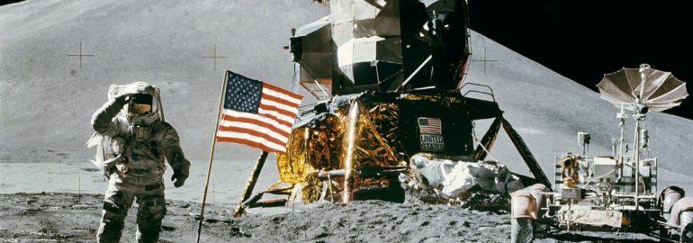 Missies en man op de maan projecten